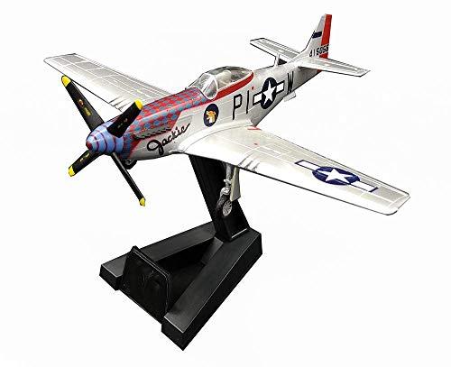 JHSHENGSHI 1:72 Militärflugzeugmodell, WWII USA P-51 Fighter Finished Model, Sammlerstücke