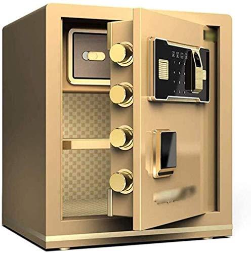 REWD Home Safe Office - Caja para documentos con huellas dactilares (tamaño: 45 x 33 x 38)