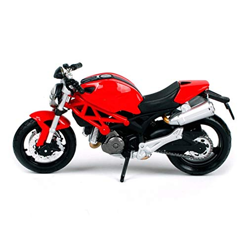 Kit de modelo de motocicleta 1:18 para Ducati Monster Die casting Micro Moto Bike DIECAST Juguete