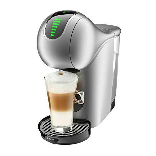 Krups NESCAFÉ Dolce Gusto Genio S Touch KP440E10 Kaffeevollautomat mit Touch-Display für Espresso und andere Getränke, 1500 W, 0,8 l, silber