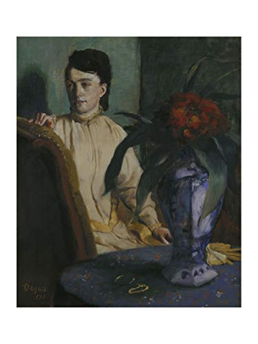 Edgar Degas - Woman with Chinese Vase 1872 Print 60x80cm