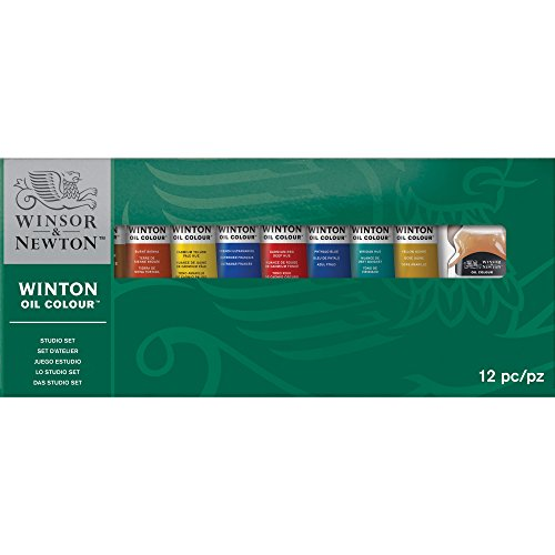 Winsor & Newton Tubo de Pintura de óleo, 21 ml, Studio Set