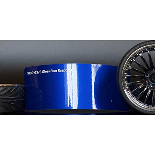 Preisvergleich Produktbild 3M 1080 Gloss Blue Raspberry / G378 / Vinyl CAR WRAP Film (5ft x 15ft (75 Sq / ft)) w / Free-Style-It Pro-Wrapping Glove
