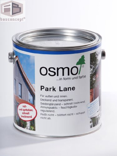 Osmo Garten- & Fassadenfarbe Englisch Grün (RAL 6009) 2,50 l - 13100091