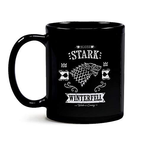 Caneca Game Of Thrones Casa Stark Black