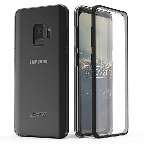 Urcover Kompatibel mit Samsung Galaxy S9 Hülle I Original berühmt durch Galileo I Hard-Edition I QI-Fähig Rundum 360° Schutzhülle Case Grau
