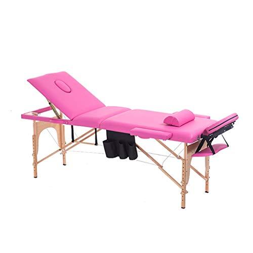 Mesa de Masaje Plegable, Ligero, plegable, portátil, silla para cama de masaje,...