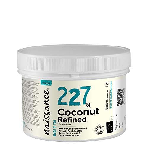 Naissance Coco Refinado BIO Sólido - Aceite Vegetal Prensado en Frío 100% Puro - Certificado Ecológico - 250g