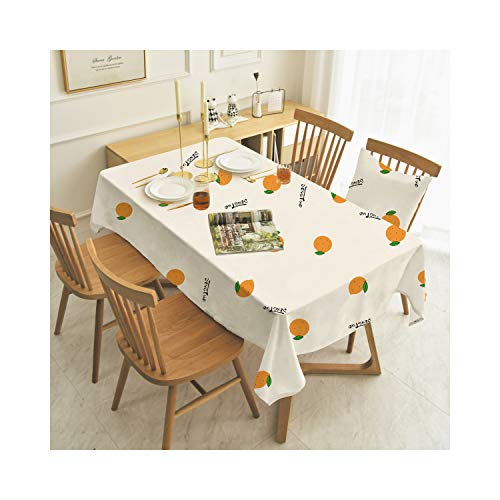 WDHXD Manteles de mesa rectangulares a prueba de polvo para cocina, comedor, patio, fiesta al aire libre (blanco, 130 x 220 cm)