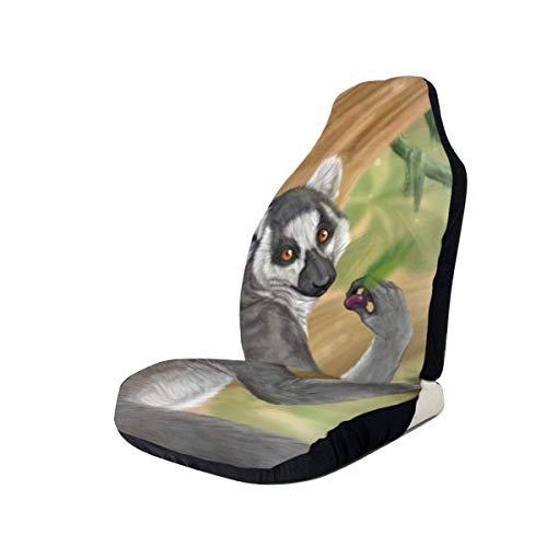 Autostoelbekleding Voorstoelen - Cartoon Mole Bedrukte Autostoelhoezen 1/2 Stks, Autostoelhoezen passen bij de meeste auto's, vrachtwagens, SUV of busjes