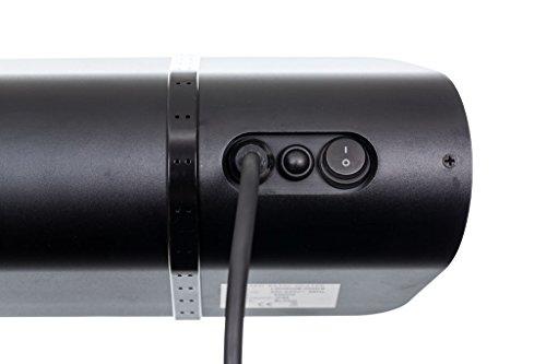 Infrarotstrahler HeizMeister LuXus Professionell schwarz, steuerbar über Smartphone oder Fernbedienung - 3