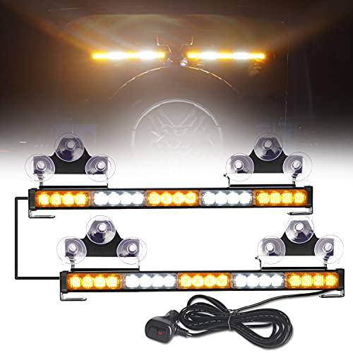 [Upgrade] ASPL 40 LED 2 in 1 Emergency Flashing LED Traffic...