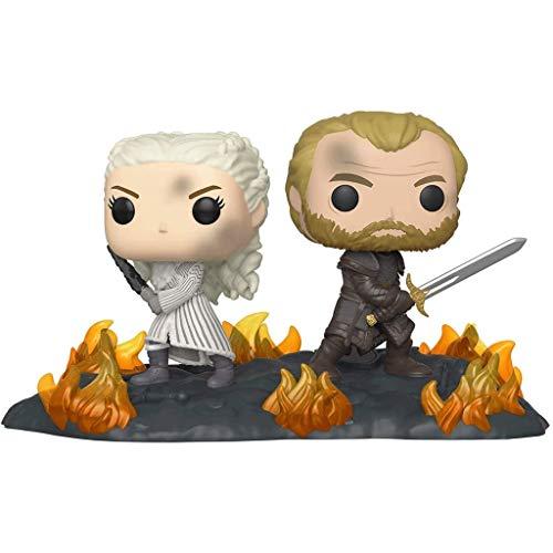 MCC Studio Funko Pop Television : Game of Thrones - Daenerys and Jorah 3.75inch Vinyl Gift for...