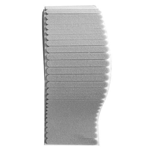 Artibetter Nasenbügel für Mundschutz Metall Biegbaren Nasenbügel Nasenbereich Nasenbrücke für DIY Basteln Handwerk Nähen Mundschutz Zubehör Grau 100 Stück