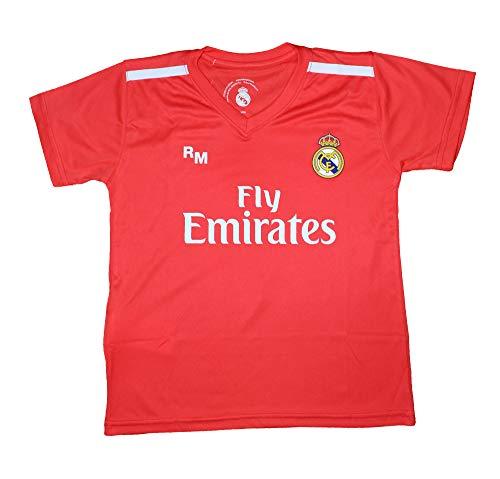 Camiseta Portero Junior Real Madrid - Réplica Autorizada - Navas 1 (10...