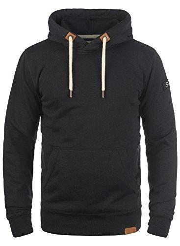 !Solid TripHood Herren Kapuzenpullover Hoodie Pullover Mit Kapuze Und Fleece-Innenseite, Größe:M, Farbe:Black (9000)