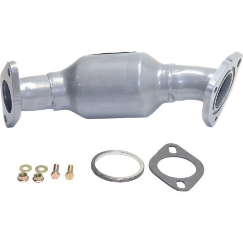 Catalytic Converter Assembly Compatible with 2007-2016 GMC Acadia and 2009-2017 Chevrolet Traverse 6 Cyl 3.6L Firewall Side