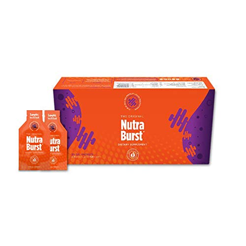 RIP & SIP! Nutra Burst Premium Liquid Multivitamin & Detox in a Convenient Gel Pack, Feel Better All Day & Night – Total Life Changes (30 Gel Packets)