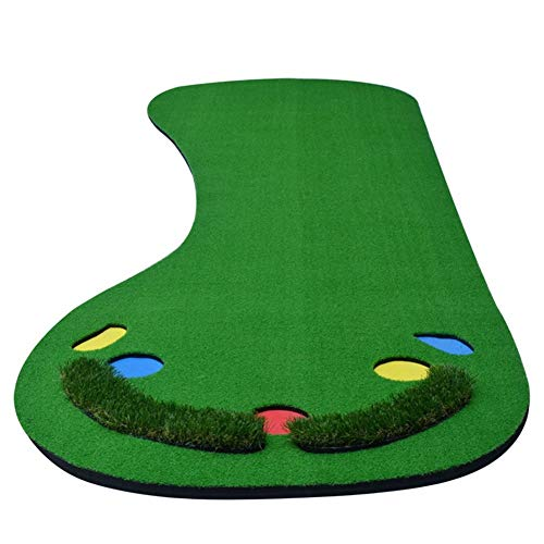 Find Discount ChenCheng Golf mat Push Rod Practitioner Portable Practice Blanket Strike pad Large Si...