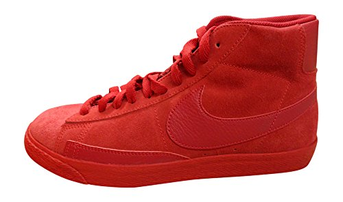 Nike Herren Blazer Mid PRM VNTG Basketballschuhe, Mehrfarbig-Multicolore-Rojo/Marrón (Gym Red/Gym Red-Gm Light Brown), 45 EU