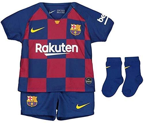 Nike Kinder Football Set FCB I NK BRT KIT HM, deep royal blue, 18-24M, AO3072