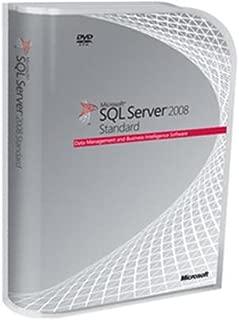 Microsoft SQL Server 2008 R2 Standard Edition 32-bit/x64 (10 Client Access Licenses) [Old Version]