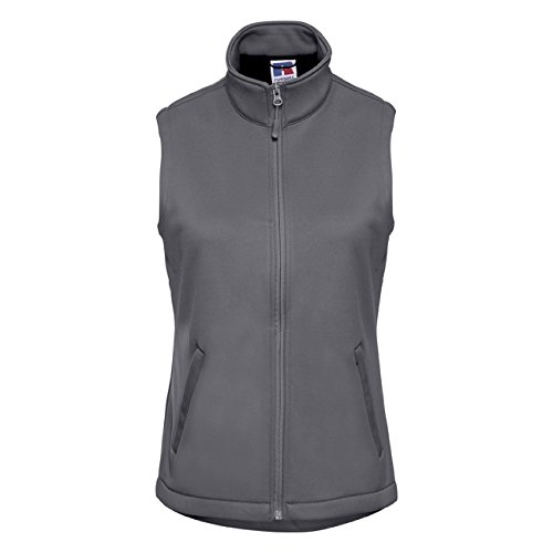 Russell dames Smart Softshell Gilet, maat, X-Small, Convoy Grey, 1