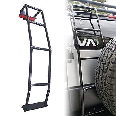 Tata.Meila Rear Ladder for Toyota 4Runner 2010 - 2021 Universal Tailgate Ladder