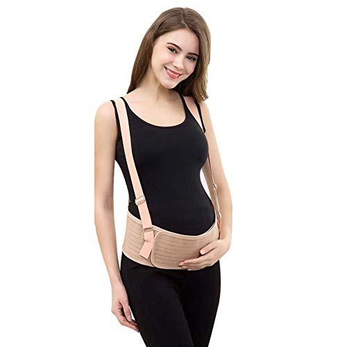 ZJN-JN De las mujeres embarazadas Cinturón - Cuidado respirable abdominal soporte y acompañamiento pélvico - Baby Prenatal textuales, descompresión prenatal y postparto - cómodo y transpirable ajustab