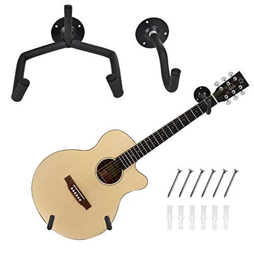 Metdek Soporte Guitarra Pared Horizontal, Colgador Guitarra Pared EléCtrica AcúStica CláSica,InclinacióN De La SuspensióN De Guitarra En áNgulo,Clasica Soporte De ExhibicióN De Guitarra