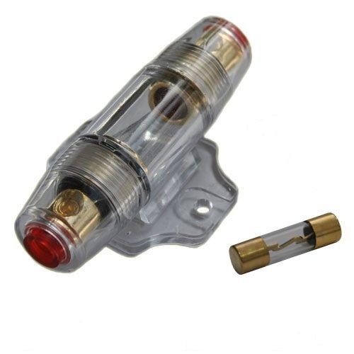 Auto kfz 12v Endstufe Verstärker Sicherungshalter & 60A gold Sicherung AGU