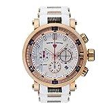 Swiss Legend Reloj Dragonet SL-13838SM-RG-02-WHT