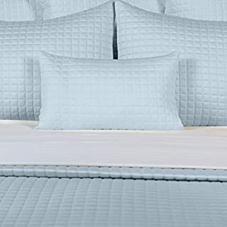 Rayon Made from Bamboo Block Quilted Coverlet Bedding