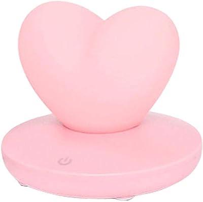Lumière De Nuit Usb Silicone Love Light, Recharge Usb, Eye Care, Lampe De Table De Chevet, Cadeau De Vacances-2W_ [Balloon] Blanc