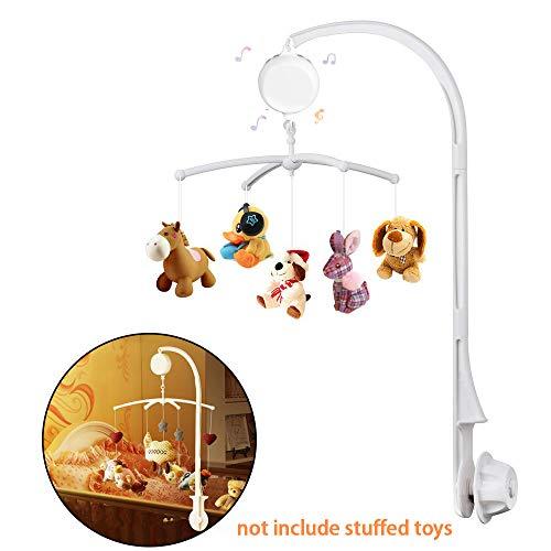 kungfu Mall 1set di Carillon Merry Music per Lettino per Bambini con 35 brani per Culla per Cellulare