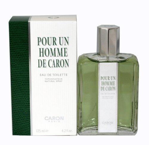 POUR UN HOMME von Caron für Herren. EAU DE TOILETTE SPRAY 4.2 oz / 125 ml