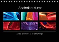 Abstrakte Kunst (Tischkalender 2022 DIN A5 quer): Formen und Farben in Einklang zu bringen ist hier die Art. (Monatskalender, 14 Seiten )