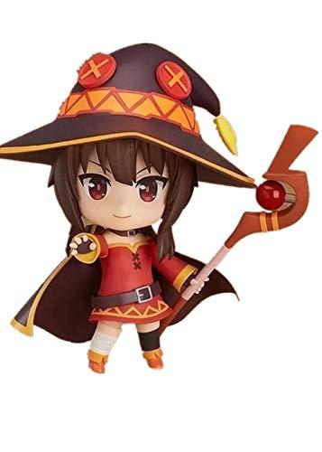 10cm Japanese Anime Sega KonoSuba: God's Blessing on This Wonderful World! Figurine PVC Action Figure Megumin Doll Stand Model
