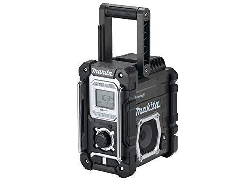 Makita DMR 108 ZB 7,2 - 18 V Akku Baustellen Radio mit Bluetooth Schwarz Solo - ohne Akkus und Ladegerät