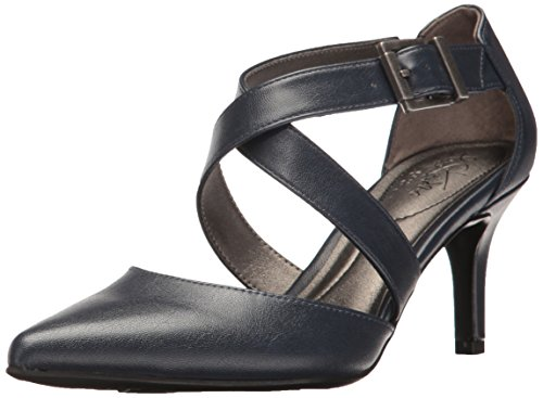 LifeStride womens See This Dress Pump, Lux Navy, 8.5 US