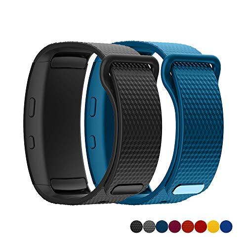 TOPsic Ricambio per Cinturino Gear Fit 2/Gear Fit 2 PRO Braccialetto, Cinturino di Ricambio in Silicone Braccialetto Cinturino per Gear Fit 2 PRO SM-R365/Gear Fit 2 SM-R360 Cinturino