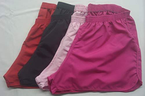 KIT c/ 3 Shorts Feminino Plus Size 2250 Praia com elástico. (58)