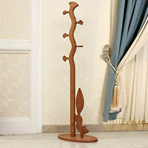Eenvoudige idee deur tot houten kleerhangers vloer woonkamer kleerhangers eenvoudige kinderen boom deur hoed (stijl: F) H