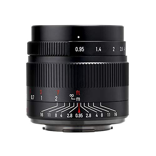 国内正規品七工匠 7Artisans 単焦点レンズ 35mm F0.95 (ソニーEマウント (APS-C)) (ブラック)35095EB