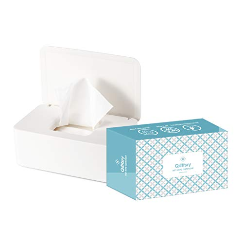 Diaper Wipes Dispenser Baby Wipes Case, Baby Wipe Holder Keeps Wipes...