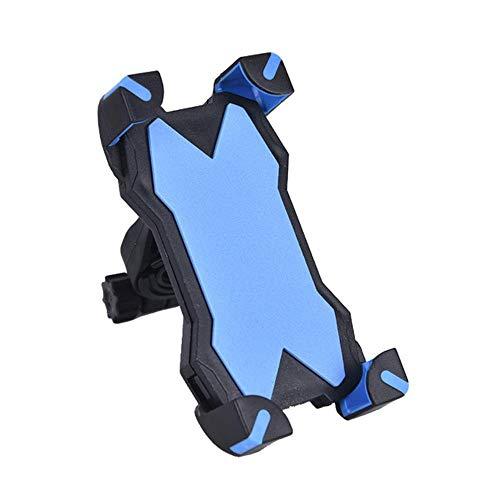 Yener 1pc gsm-houder staat voor fiets motorfiets metalen mountainbike racefiets telefoonhouder, hemelsblauw