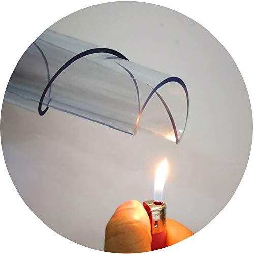 Stoel Mat GUORRUI Harde Vloer Mat Polycarbonaat Voor Harde Vloeren Tafel Cover Protector Tegel Diameter Rond Helder, 3 Dikten, Ondersteuning Aanpassing