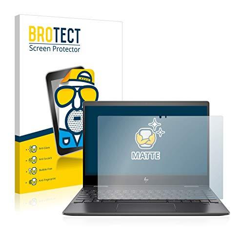BROTECT Entspiegelungs-Schutzfolie kompatibel mit HP Envy x360 13-ar0104ng Bildschirmschutz-Folie Matt, Anti-Reflex, Anti-Fingerprint