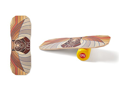 Epic Balanceboards Balance Board Epic URSA-Tabla de Equilibrio, Unisex, Varios, Normal