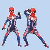 YUNMO Fun Ausrüstung Spiderman Enge Kleidung Kinderhelden Expedition Erwachsene Cosplay Kostüm Set...